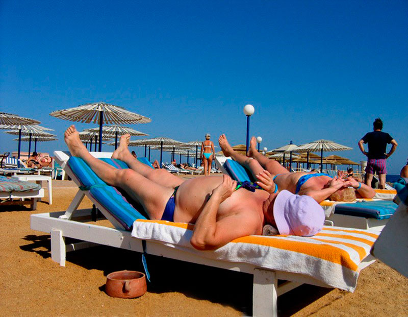 Русские туристы в Израиле