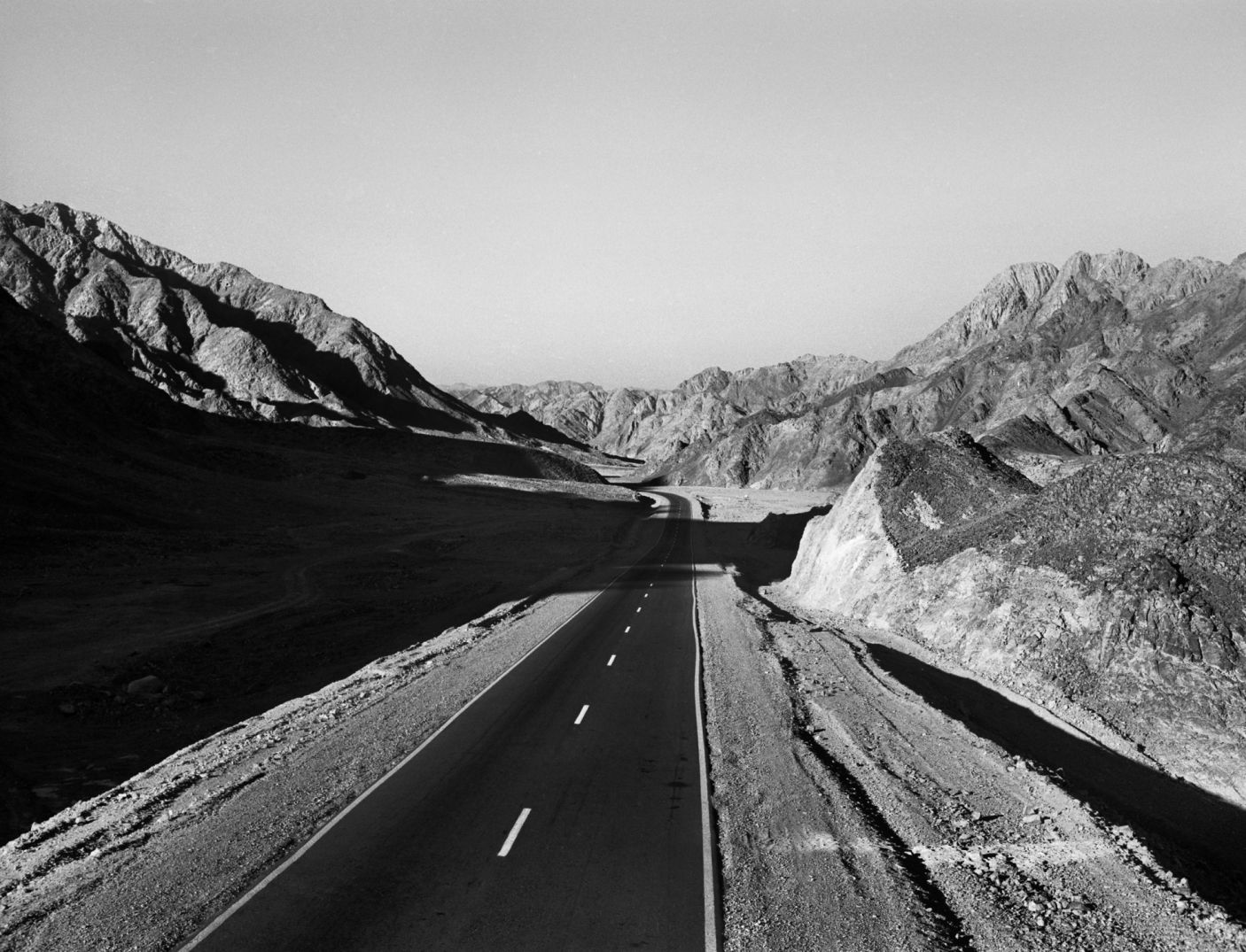 Lost road, 1973. Rudi Weissenstein phpto