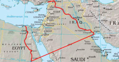 От Нила до Евфрата – это естественные границы Израиля
