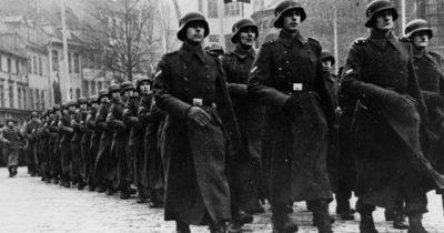 В Риге прошел марш легионеров СС. «Они сражались за Гитлера»