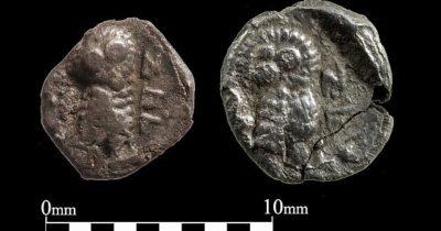 В Иерусалиме найдены 3 крошечные, чрезвычайно редкие монеты IV века до н.э.