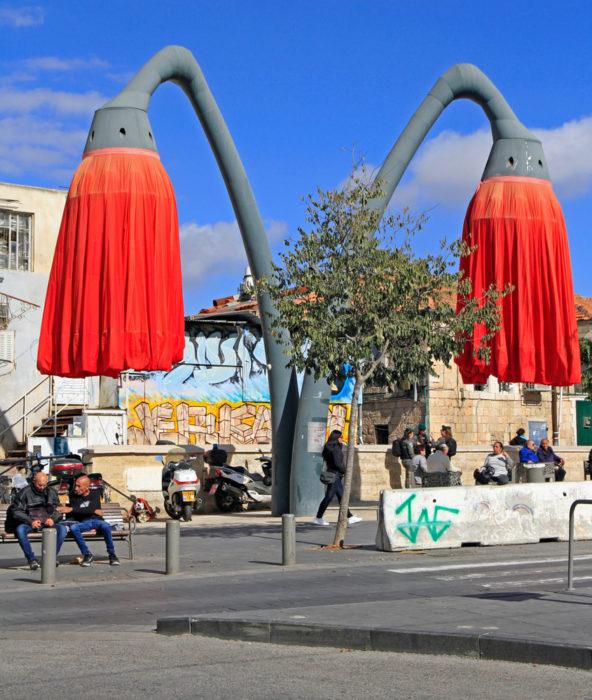 Рынок Махане Иегуды в Иерусалиме