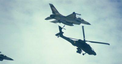 ВВС Израиля семь объектов террористов ХАМАСа в секторе Газа