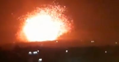 И снова взрывы вблизи Дамаска