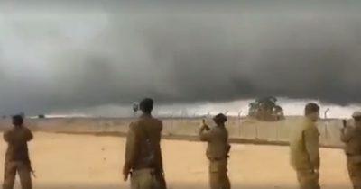 Как столп облачный защищал Израильскую границу с Сирией