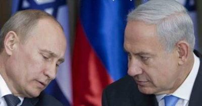 Нетаньяху рассказал Путину о поездке на Украину