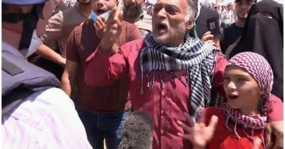 Тысячи мятежников на границе с Газой