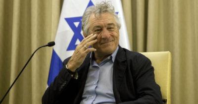 Актер Роберт Де Ниро о Израиле
