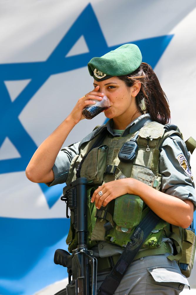 ЦАХАЛ. Солдатка, самая красивая армия