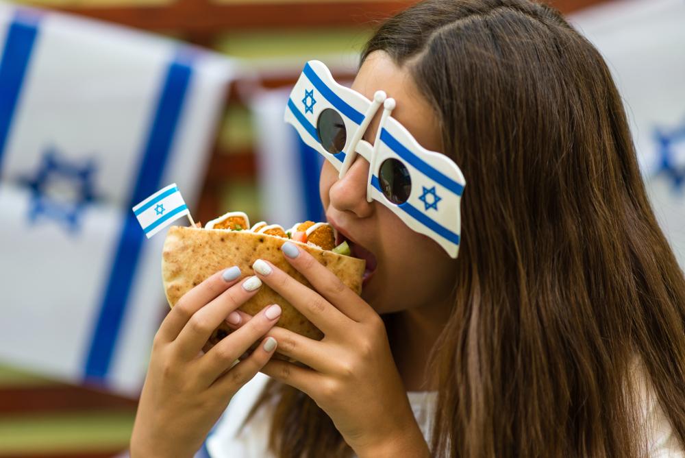Уличная еда в Израиле
