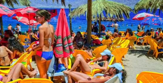 Эйлат. Пляж солнце