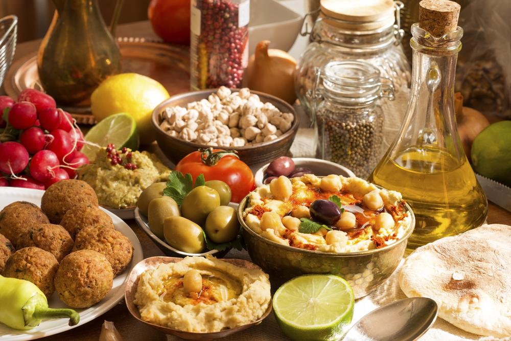 Кухня хумус фалафель