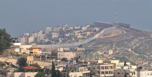 Палестина. Стена разделяющая с Израилем