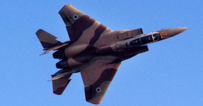 ВВС Израиля в небе Ливана и Сирии летают без препятствий