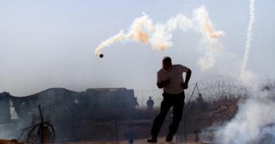 На границе с Газой не спокойно