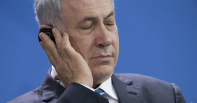 Против Нетаньягу вышли в Германии, Великобритании, Австралии, Швейцарии, Нидерландах и США