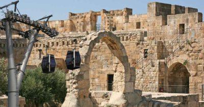 Амбициозный проект — канатная дорога к городу Давида