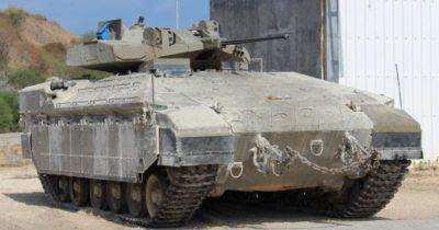 Новый супер тяжелый израильский танк