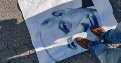 Фото – хроника протестов в Израиле. Азриэли