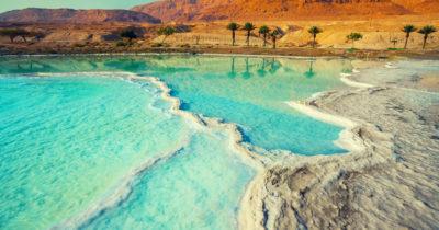 Мертвое море. произошло землетрясение