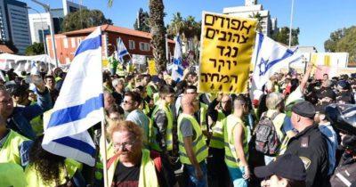 """Израильские """"желтые жилеты"""" круче французских"""