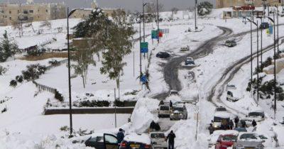 Израиль готовится к снежной буре. Коллапс