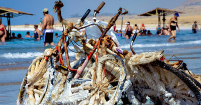 В Израиле пройдет марафон на Мертвом море