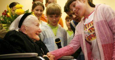 Интервью дочери Ирены Сендлер. 15 февраля ей исполнилось бы 109 лет.