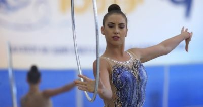 Линой взяла 4 медали по художественной гимнастике
