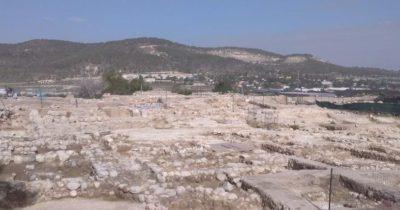 Обнаружен древний город, во время строительства дороги