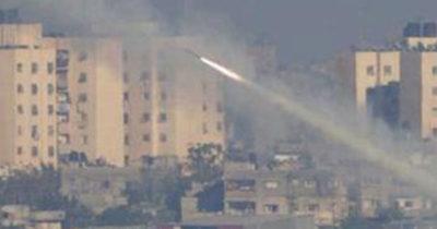 Ракетная атака на Израиль