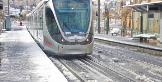 снег израиль