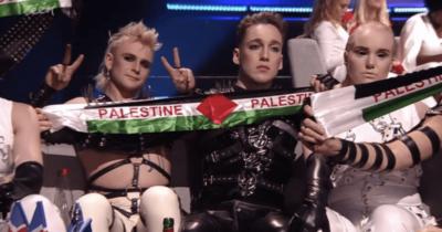 Флаг Палестины дважды поднимался — Мадонной и группой из Исландии. Евровидение использовали против Израиля