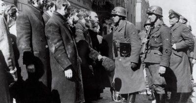Непознанная жертва найденная в Варшавском гетто польскими евреями, была захоронена