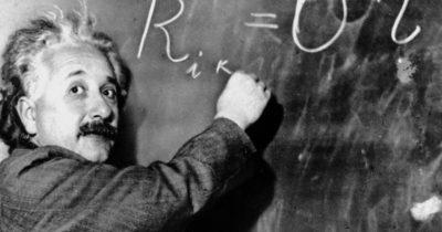 Этого студента звали Альберт Эйнштейн