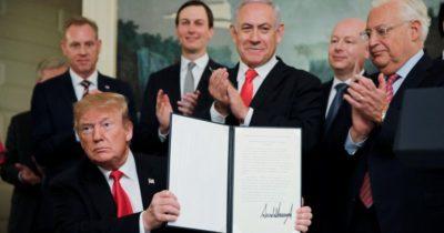 Чем Трамп навсегда вошел в Историю Израиля