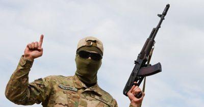 Израильтянин воюющий в националистическом батальоне «Айдар» на Донбассе