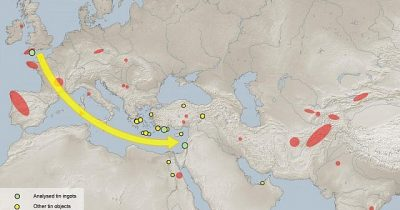 Более 2х тысяч лет назад Израиль скупал у Англии олово. Для чего