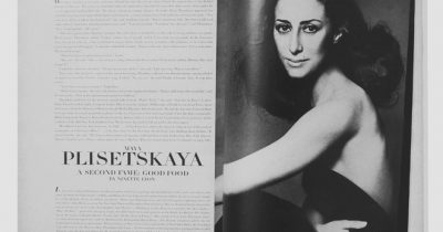 Модная фотосессия Майи Плисецкой у Ричарда Аведона