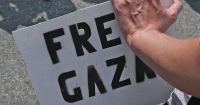 Протест против Израиля студентов в Канаде