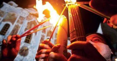 В связи с коронавирусом схождение «благодатного огня» переносится на сентябрь