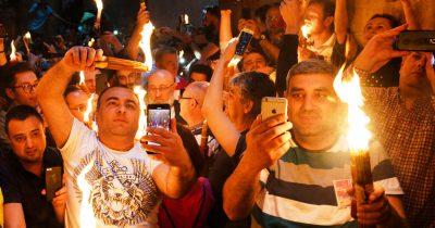 Власти Израиля помогут в получении «Благодатного огня» христианам. Точный график еще не ясен