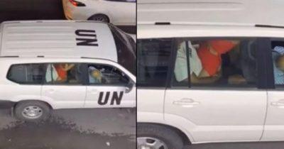 ООН шокированы сексом сотрудников в машине израильского отделения организации