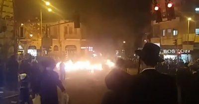 Беспорядки в Иерусалиме из-за масок