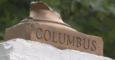 Статуя Христофора Колумба сошла с курса в Балтиморе. Репарации темнокожим