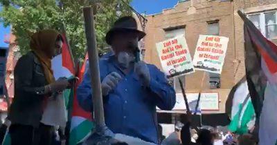 Американские протестующие скандируют «Смерть Израилю»