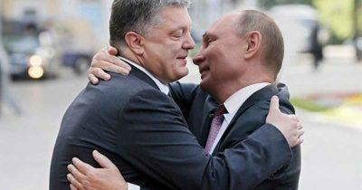 Они не только обнимались. О личных отношениях между Порошенко и Путиным — разговоры.  Полит-сатира