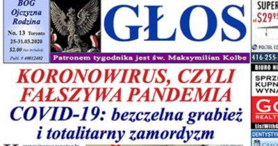 Польская газета выяснила кто распространяет коронавирус