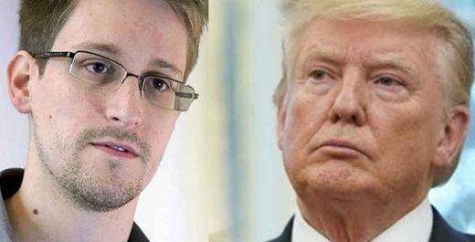 Трамп полумилет Сноудена