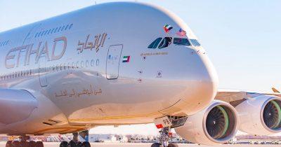 Первый коммерческий рейс Etihad Airways, с лидерами туриндустрии, прибыл в аэропорт Бен-Гурион